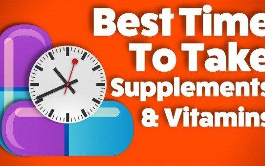 Optimal Supplement Timing